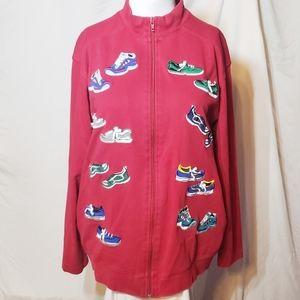 Bechamel Shoe Print Jacket